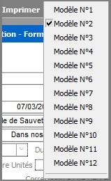 Liste des modèles de convention